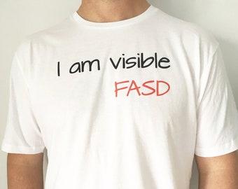I am visible FASD Adult T