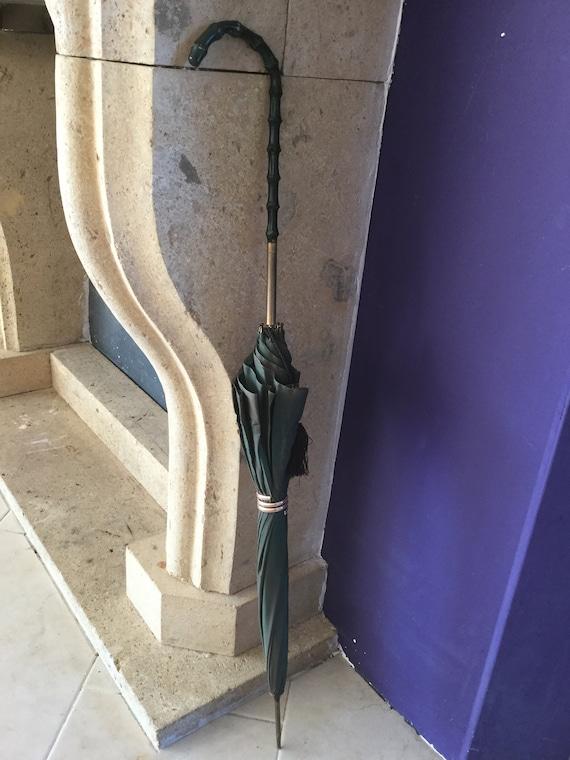 Vintage Green Umbrella