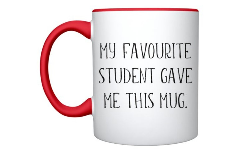 Personalized Teacher Mug Personalised Teachers' Day Mug image 0