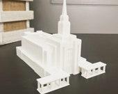 Oquirrh Mountain, Utah LDS Temple Model - Statue - Mormon - The Church of Jesus Christ of Latter-day Saints