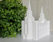 Brigham City, Utah LDS Temple Model - Statue - Mormon - The Church of Jesus Christ of Latter-day Saints
