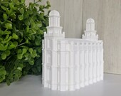 Logan, Utah LDS Temple Model - Statue - Mormon - The Church of Jesus Christ of Latter-day Saints