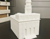 Nauvoo, Illinois LDS Temple Model - Statue - Mormon - The Church of Jesus Christ of Latter-day Saints