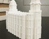 Manti, Utah LDS Temple Model - Statue - Mormon - The Church of Jesus Christ of Latter-day Saints