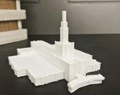 Denver, Colorado LDS Temple Model - Statue - Mormon - The Church of Jesus Christ of Latter-day Saints