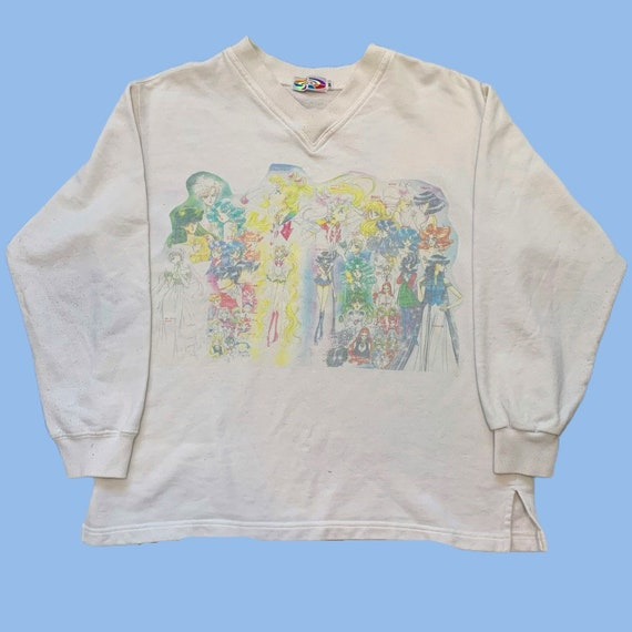 Vintage 90s Sailor Moon Anime Sweatshirt