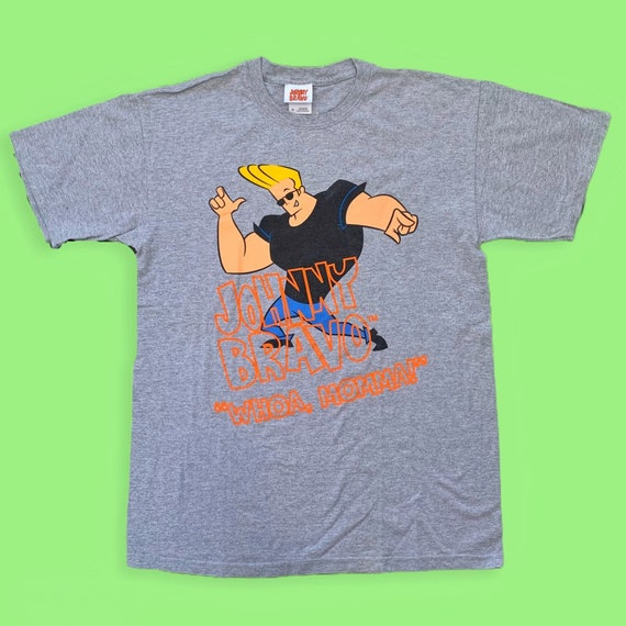 Vintage 2000s Johnny Bravo Cartoon Network T Shirt