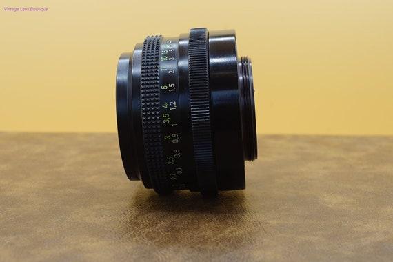 Carl Zeiss PANCOLAR 1.8//50mm Zebra M42 alemán tornillo de montaje de la lente