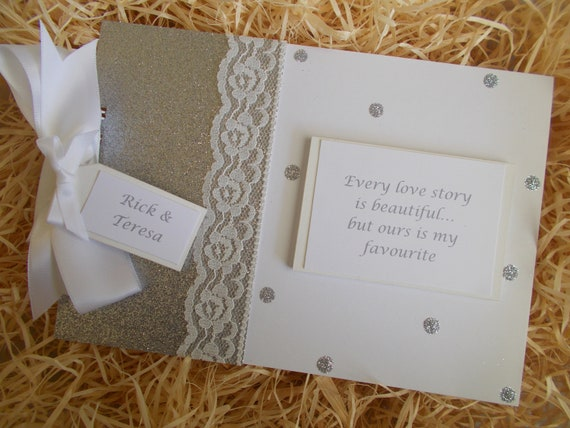 Personalised Every Love Story Photo Album Scrapbook Memory Book QUICK POSTAGE