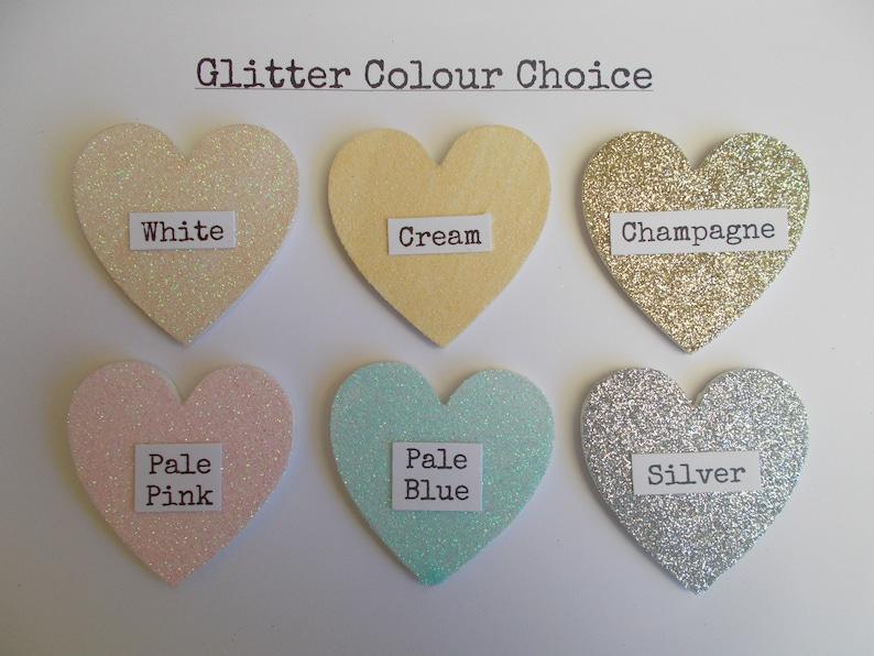 Personalised Baby Shower Glitter Scrapbook Memory Photo Album Gift