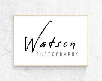 Logo de photographe minimal, logo moderne simple, genre neutre, Logo entreprise, Logo minimaliste, pré fait Logo, Logo Chic, Blog, Blog en-tête