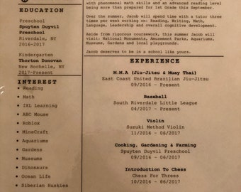 Custom Resume Consultation