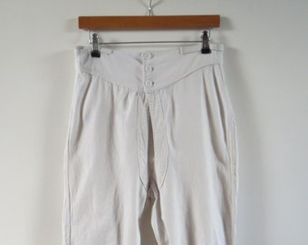 Pack of TWO Men/'s French /'EMINENCE/' Vintage Pure White Cotton Undies  Y Fronts ML NOS