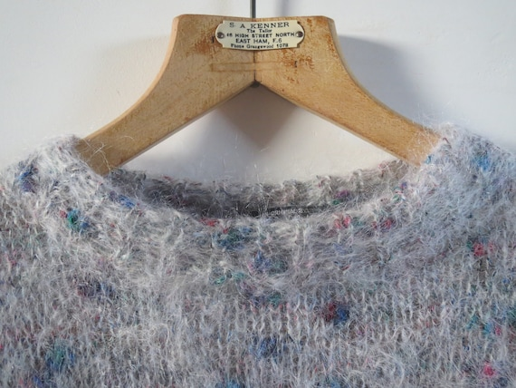 Vintage mohair sweater size 38 M 10 - image 3