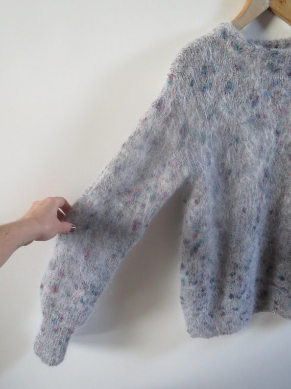 Vintage mohair sweater size 38 M 10 - image 5