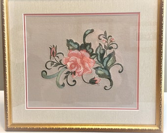 Embroidered Wall Hanging/Embroidery on Velvet Wall Hanging/Embroidery Accessories