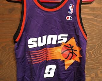 cbfb3f68b1b Vintage 80s Dan Majerle 1980s Champion NBA Basketball Jersey // vintage  sports basketball jersey // 80s basketball jersey Size 36