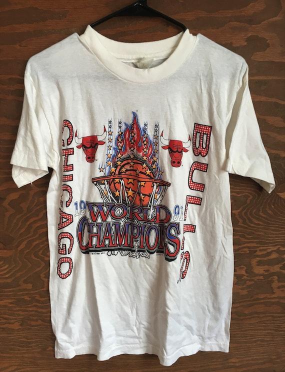 Vintage Chicago Bulls 1991 NBA Basketball Champion