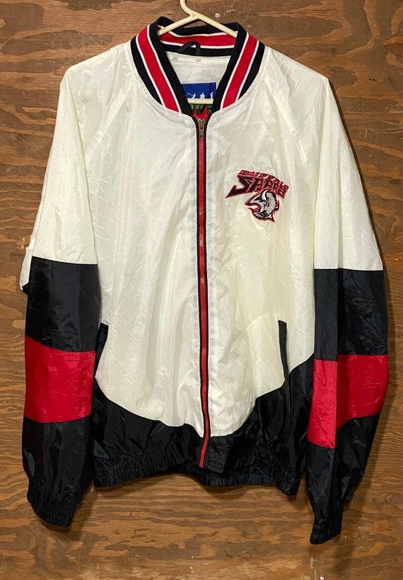 Vintage 90s Buffalo Sabres NHL Hockey Windbreakers