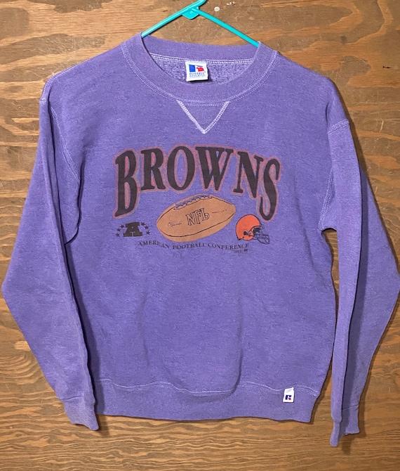 Vintage 80s Cleveland Browns NFL Football Kids Spo