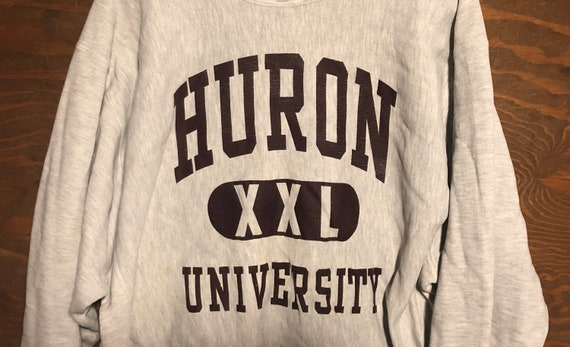 Vintage 80s Huron University South Dakota 1980s C… - image 2