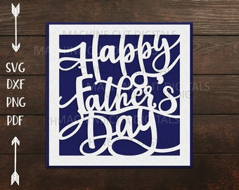 Free Any day is just as good as any to tell a father that he's much appreciated, but are you feeling a bit sentimental or emotional? Fathers Day Card Svg Etsy SVG, PNG, EPS, DXF File