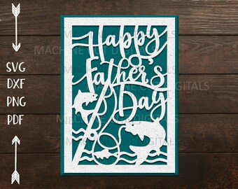 Free Father's day is a special day in june where we commemorate the fatherly figures in our lives. Fathers Day Card Svg Etsy SVG, PNG, EPS, DXF File