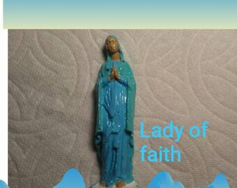 Blue lady of Faith