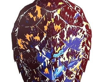 Turtle Shell Print