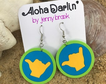 Beachy Shaka Earrings