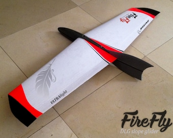 FireFly Hand Launch RC Slope Soar DLG Glider Kit Radio Controlled A