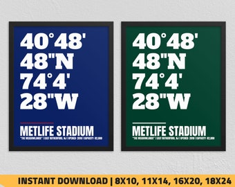 graphic relating to Ny Giants Printable Schedule named Ny giants printable Etsy