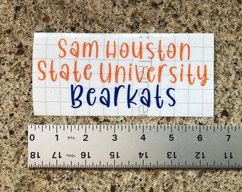 Sam houston state | Etsy