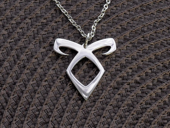 Angelic Power Pendant Shadowhunters Necklace Enkeli Pendant Etsy