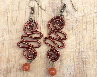 Swirls& such- Large earring collection
