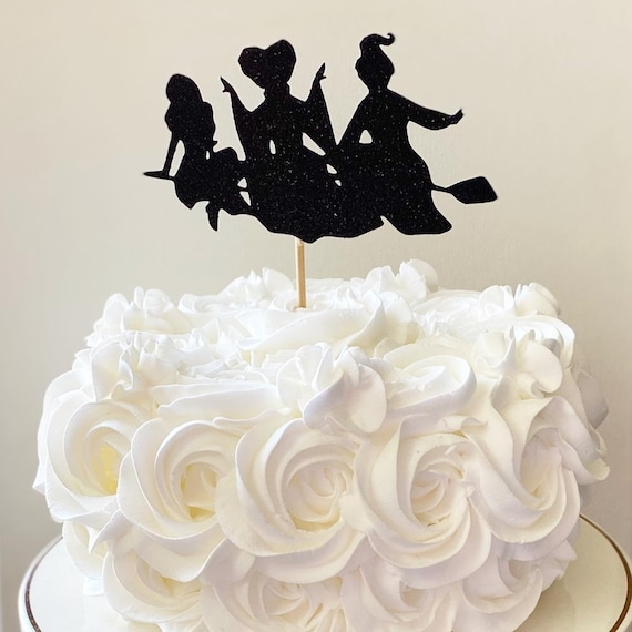 Hocus Pocus Cake Topper Halloween Cake Topper Sanderson Sisters Cake Topper Hocus Pocus Happy Birthday Cake Topper Witches Cake Topper