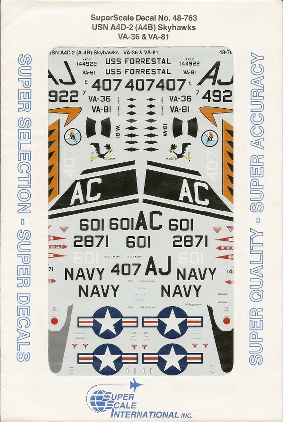 Waterslide Decals for Action Figures and Vehicles Navy U.S.N Small Scale U.S