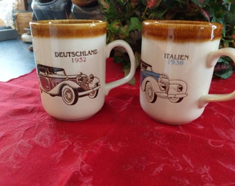 antique Coffee cups