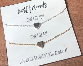 bc25ae73773a0 Best friend necklace | Etsy