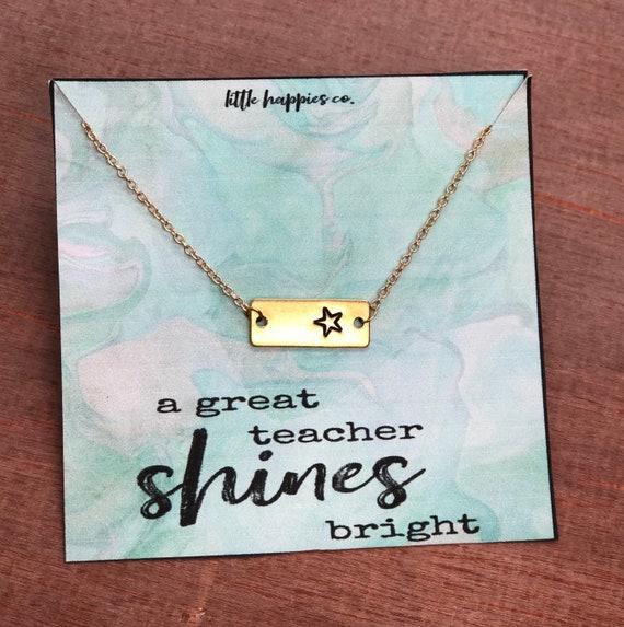 Teacher Gift Gift From Student Teacher Appreciation Christmas Gift For Teacher Inexpensive Ready To Ship Preschool Daycare Teachers