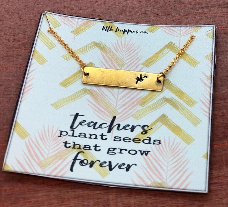 teachers gift gift from student daycare gift teacher necklace teacher Appreciation week gifts unique teacher gift Teacher gift