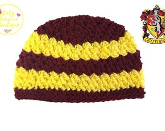 Gryffindor Inspired Baby Hat