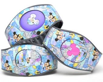 Disney World 50th Anniversary MagicBand 2.0 Skin | Magic Band Decal