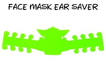 Baby Yoda Face Mask Ear Saver | Star Wars The Mandalorian| Ready to Ship!