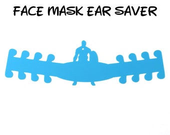 Captain America Face Mask Ear Saver | Marvel Avengers | Ready to Ship