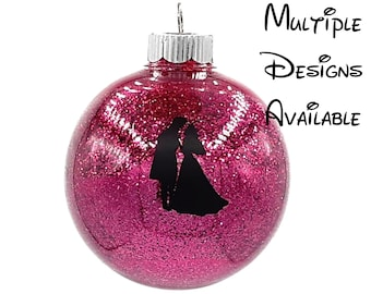 Sleeping Beauty Christmas Tree Ball Ornament | Disney Christmas Tree Ornament | Sleeping Beauty Christmas Ornament | Maleficent Ornament