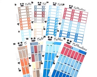 Frozen Planner Stickers 2 | Erin Condren | For LifePlanners Organizers Journals | Anna Elsa Olaf Sven Kristoff | Permanent and Removable
