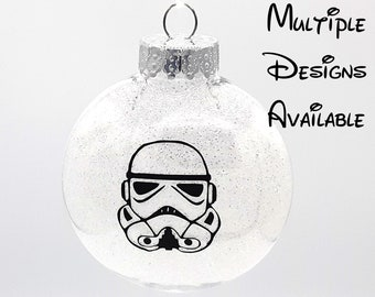 Star Wars Christmas Tree Disc Ornament | Disney Christmas Tree Ornament | Star Wars Christmas Ornament | Millennium Falcon Ornament | BB8
