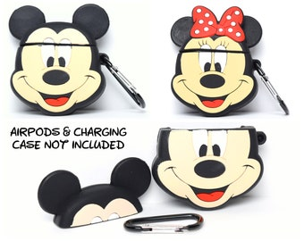Mickey or Minnie Mouse AirPods Case Cover   AirPods & Charging Case NOT Included