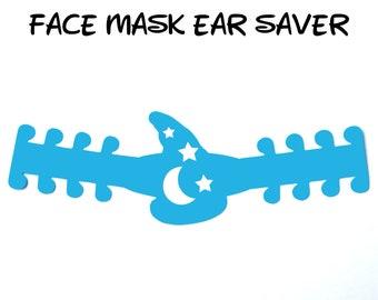 Sorcerer's Apprentice Hat Face Mask Ear Saver | Fantasia | Fantasmic | Ready to Ship!